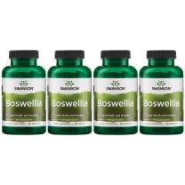 Swanson Boswellia Joint Flexibility Movement Support Ayurvedic Herb (boswellia serrata Resin) 400 mg per Capsule 800 mg per Serving 100 Count (4 Pack)