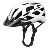 Joncom Adult Bike Helmet with Light, Men Women Bike Helmet CPSC Certified for Bicycle Skateboard Mountain Road Cycling Helmet