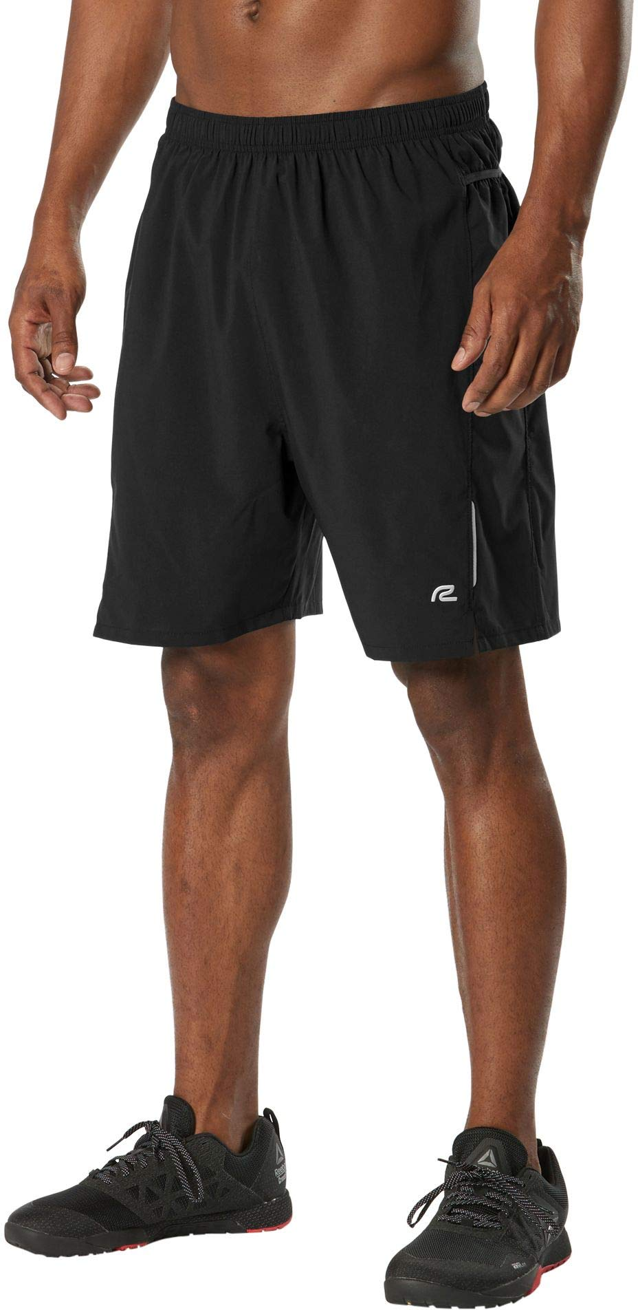 R-Gear Men's Workout Running Shorts with Six Pockets and Built-in Liner | 3-Inch and 7-Inch | Stash Solver