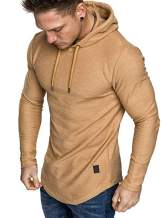Uni Clau Men's Active Gym Muscle Bodybuilding Short Sleeve T-Shirt Workout Running Sweatshirts
