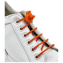 Mercury + Maia Classic Elastic No Tie Shoelaces for Adults and Kids - Rugged and Tough - Easy to Use (1 Pair)