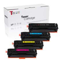 Tonersave Compatible CF400X CF401X CF402X CF403X HP 201X Color Toner Cartridge for HP Color Laserjet Pro M252dw M252n HP Color Laserjet Pro MFP M277dw M277n M277c6 M274n Laser Printer 4 Pack