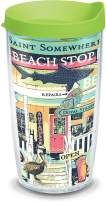 Tervis 1319367 Margaritaville - Beach Shop Insulated Tumbler with Wrap and Lid, 16 oz - Tritan, Clear