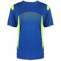 Facitisu Mens Short Sleeve Performance Shirt Lightweight Athletic Running Sport Dry fit Tee Shirts S-3XL