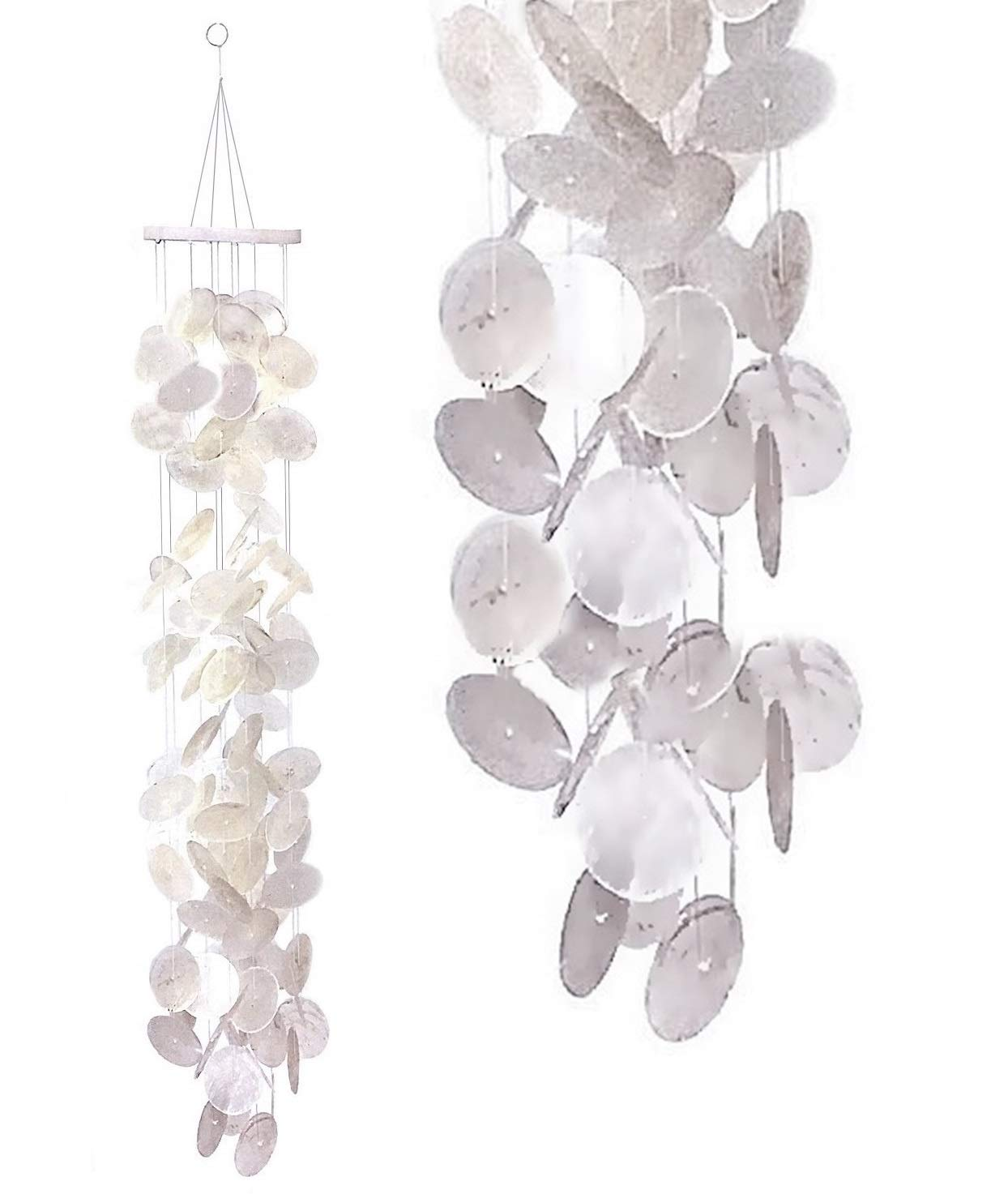 Bellaa 279256 Outdoor Patio Garden Wind Chimes Gifts for Mom Best Friends Grandma Teacher Mother in Law Soothing Tone 40 inch