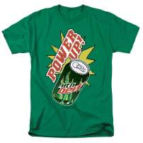 Mountain Dew Power Up T Shirt & Stickers