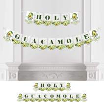 Big Dot of Happiness Hello Avocado - Fiesta Party Bunting Banner - Party Decorations - Holy Guacamole