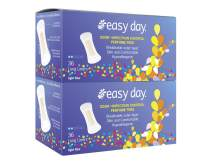 EasyDay Long Pantiliners Unscented, Hypoallergenic,Odour & Infection Control Superior Coverage All While Being Invisible - 72 Count Pack