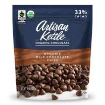 Artisan Kettle Organic Milk Chocolate Chips, 10 Oz (Pack Of 6)