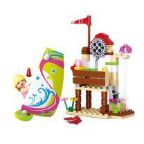 Sluban Pink Dream Series Blocks Sailing Boat Bricks Toy – Extreme Sailing