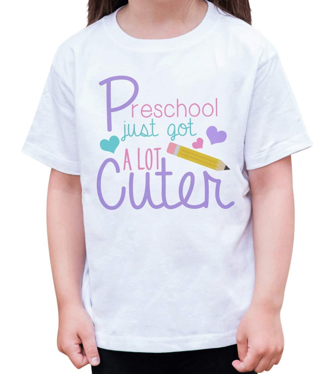 7 ate 9 Apparel Girls' Preschool Got Cuter T-Shirt