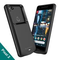 NEWDERY Google Pixel 2 Battery Case, 4700mAh Rechargeable External Protective Pixel 2 Charger Case, Portable Power Bank Charging Case Compatible Google Pixel 2