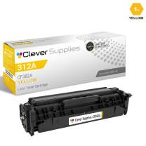 CS Compatible Toner Cartridge Replacement for HP PRO MFP M476NW CF382A Yellow HP 312A Color Laserjet PRO MFP M476 PRO MFP M476DN PRO M476NW M476 M476DN M476DW M476NW