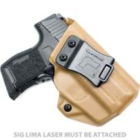 Tulster IWB Profile Holster in Right Hand fits: Sig P365/P365 SAS w/Lima Laser