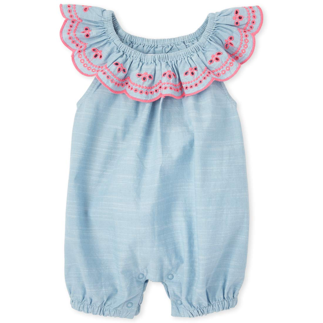 The Children's Place Baby Girls' Sleeveless Romper