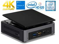 Intel NUC7i5BNK Mini PC, Intel Core i5-7260U 2.2GHz, 32GB DDR4, 1TB NVMe SSD, WiFi, BT 4.2, HDMI, Thunderbolt 3, 4k Support, Dual Monitor Capable, Windows 10 Pro
