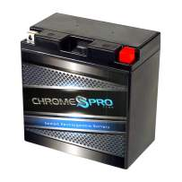 Chrome Battery CYB16CL-BS High Performance Power Sports Battery - Maintenance Free - AGM - Replacement for Jet Ski's