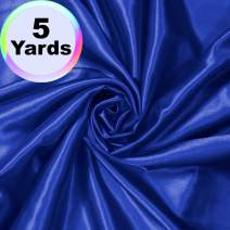 "Charmeuse Satin Fabric | 5 Yards Continuous | 60"" Wide 
