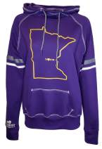 Orange Arrow Womens Minnesota Home Hoodie - MN Stadium Midweight Sweatshirt by Hometown Hoodies