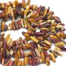 """Oameusa Agate Chips 8-20mm Egg Agate Beads Round Beads Gemstone Beads Loose Beads Agate Beads for Jewelry Making 15"""" 1 Strand per Bag-Wholesale"""