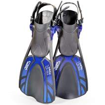 Tilos Quill Current Fins for Diving, Snorkeling, and Swim for Kids and Adults