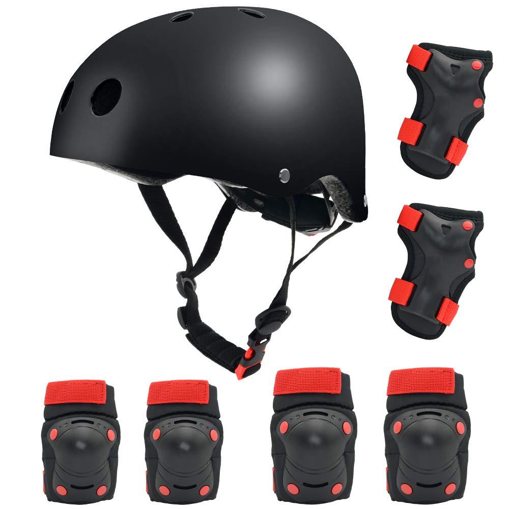 Bavilk Toddler Kids Bike Helmet,Multi-Sport Skateboard Scooter Skating Protective Gear Girls Boys