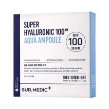 SUR.MEDIC+ SUPER HYALURONIC 100TM AQUA AMPOULE 0.28 oz / 10ml