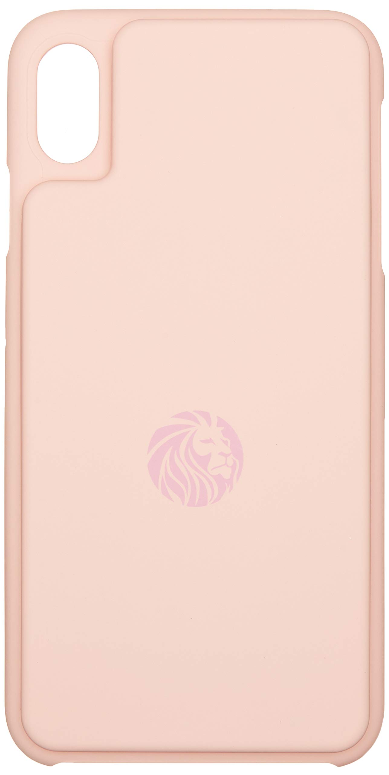 Lioned Fitcase Pink for iPhone Xs Max, Food Scale in an iPhone case, Rechargeable Battery by USB c Cable, Track Your macros Where You are, Even on The go, and Protect Your Smartphone