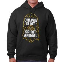 Chewie is My Spirit Animal Space Nerd Gift Hoodie