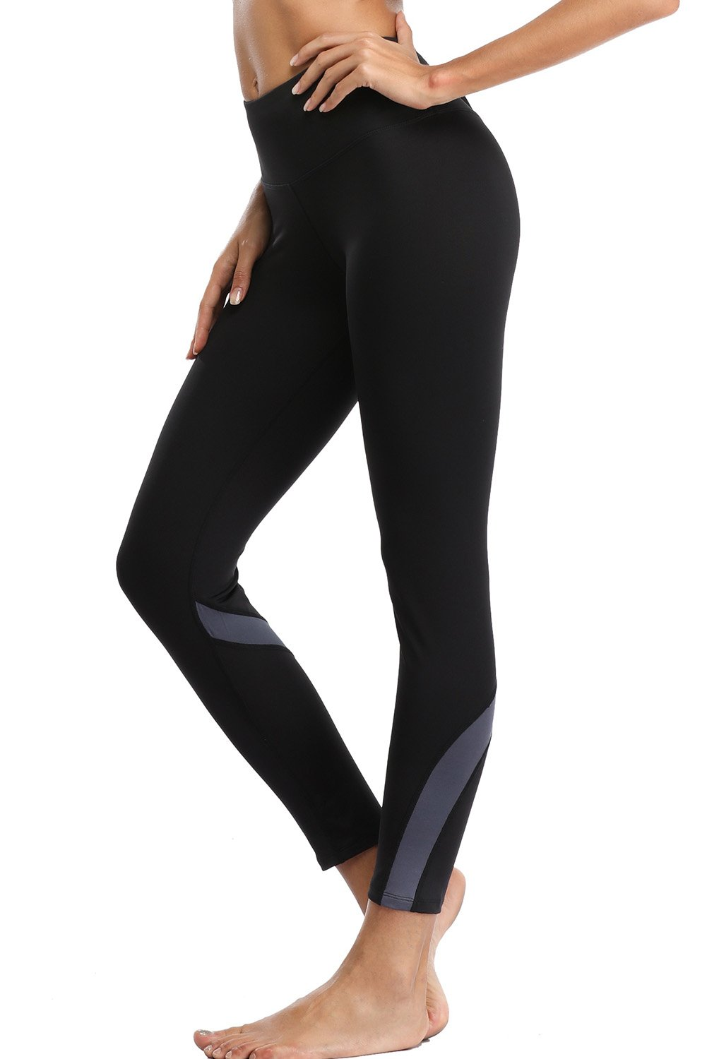 Vegatos Women's High Waisted Yoga Pants Active Compression Workout Leggings
