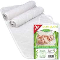 """Changing Pad Liners [3 Pack] - Waterproof Changing Pads Liners - Extra Large 27"""" X 14"""" - Baby Diaper Changing Table Pad"""