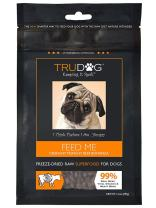 TruDog Feed Me Crunchy Munchy Beef Bonanza Dog Food - Real Freeze-Dried Raw Beef Superfood - 14 oz - Rich in Protein - Includes Omega-3 - Grain Free - No Fillers, Preservatives, or Coloring