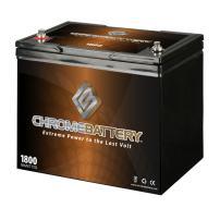 12V 80Ah AGM Deep Cycle Battery for RENOGY PV Solar Panels