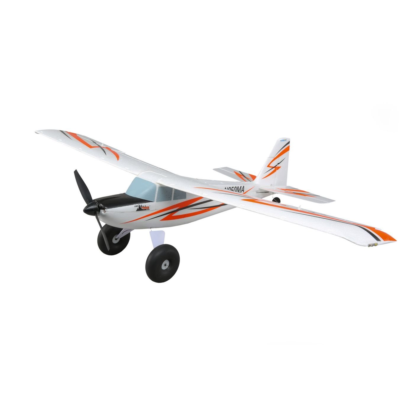 E-flite UMX Timber RC Airplane Ultra Micro STOL BNF Basic with Safe Select | AS3X Rx | LED Lights (Transmitter, Battery, and Charger Not Included)