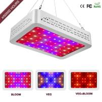 Sawpy LED Grow Light Optical Lens, 12-Band Full Spectrum Plants Veg and Bloom Switch Grow Lights for Indoor Plants Garden Greenhouse Hydroponic UV&IR (600W)