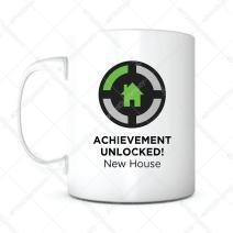 New House Achievement-Housewarming Gift,Housewarming Coffee Mug,Home Owner Mug,New Home Gift,New House Gift,Real Estate Gift,Gift for New Homeowner,Gift for Landlord,Landlord Coffee Mug,Landlord Gift