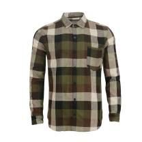 Men's Long Sleeve Plaid Flannel Winter Warm Shirt Casual Button Down Slim Fit Shirts