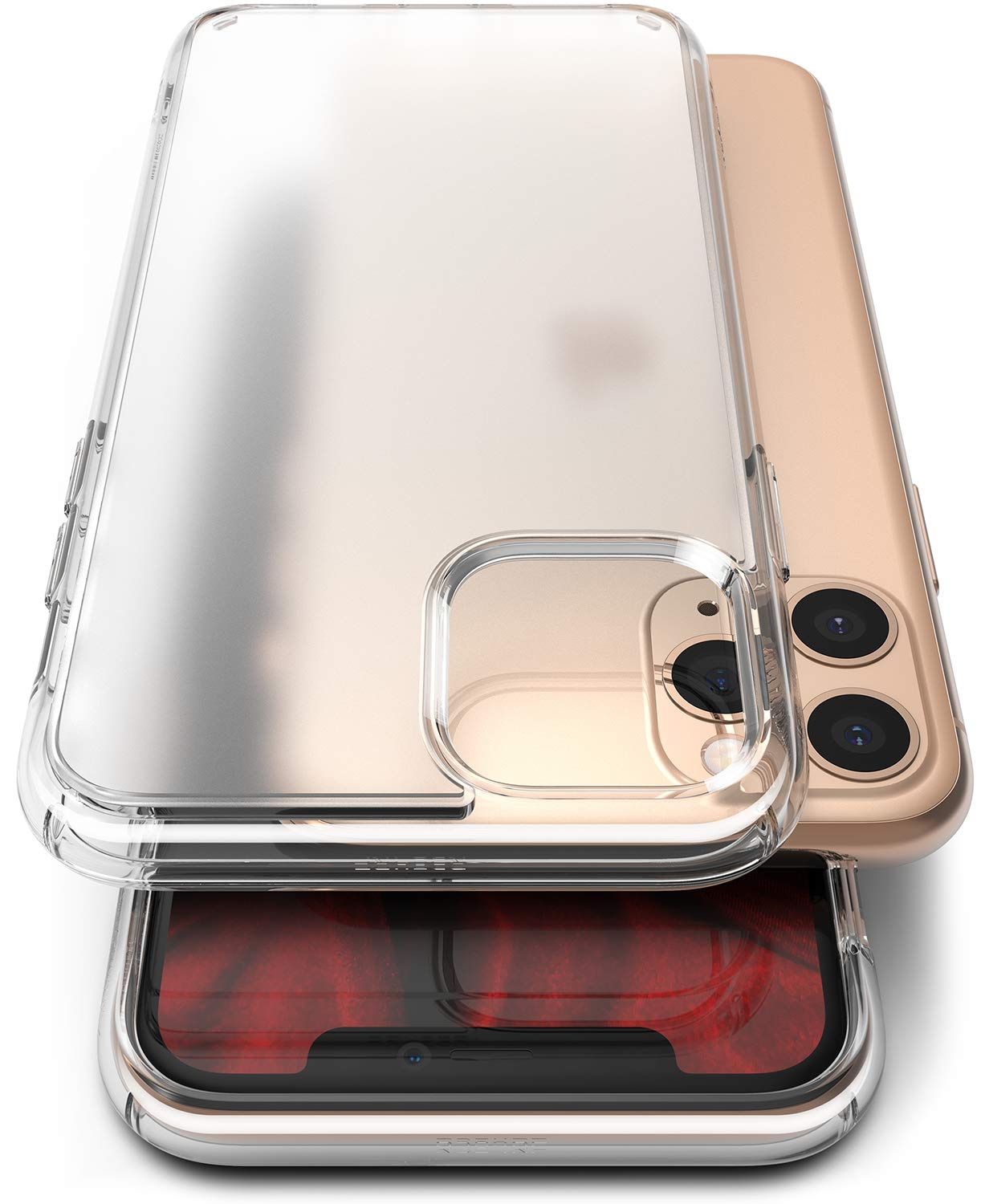 Ringke Fusion No-Smudge Matte Case Made for iPhone 11 Pro, Anti Fingerprint Frost PC Clear Case for iPhone 11 Pro (2019) - Translucent