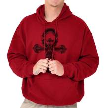 Ankh Egyptian Cross Symbolic Spiritual Gym Hoodie