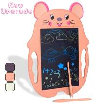 GIFT4KIDS Toys for 4 3 6 7 5 Year Old Girls Gifts,LCD Doodle Board for Girls Birthday Gifts for 4 3 6 7 5 Year Old Girls Gifts Age 5 4, Educational Drawing Tablet for Girls Toys Age 3-7(Orange)