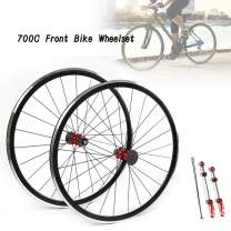 TBVECHI Bike Wheelset 700C Front 20 Rear 24 Wheels Bicycle Road Bike Wheelset Hub7075 Rim Brake Freewheel C/V