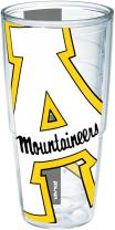 Tervis 1192740 Appalachian State University Colossal Wrap Individual Tumbler, 24 oz, Clear