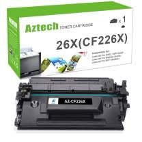 Aztech Compatible Toner Cartridge Replacement for HP 26X CF226X 26A CF226A M426fdw M426fdn M426dw M402n M402dw M402dn (Black, 1-Packs)