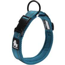 Creation Core 3M Reflective Mesh Padded Dog Collar Adjustable Nylon Outdoor Adventure Pet Collar