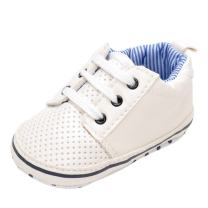 Annnowl Infant Sneakers Anti-Skid Soft Baby Boy Shoes 0-18 Months (6-12 Months)
