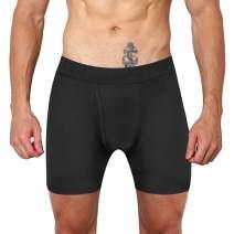 ILUVIT Men's Underwear Athletic Boxer Briefs Sport Performance Boxer Briefs Cool Dry Underwear Men Pack