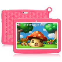 10.1 Inch Kids Tablet,PADGENE Android 8.1 Pad Quad Core Processor,1280x800 IPS HD Display,1GB Ram 16GB ROM,Kidoz&Google Play Pre-Installed with Kid-Proof Case (10 Inch, PK 16G)