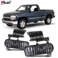 Winjet OEM Series for Chevrolet [1999-2002 Silverado] [2000 2001 2002 2003 2004 2005 2006 Suburban/Tahoe] Driving Fog Lights