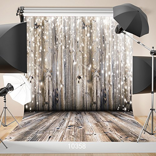 WOLADA 10x10ft Wood Backdrop Rustic Wood Backdrops for Photography Wedding Decorations Photography Backdrop Party Event Decor Wood Photo Backdrop Studio Props 10358