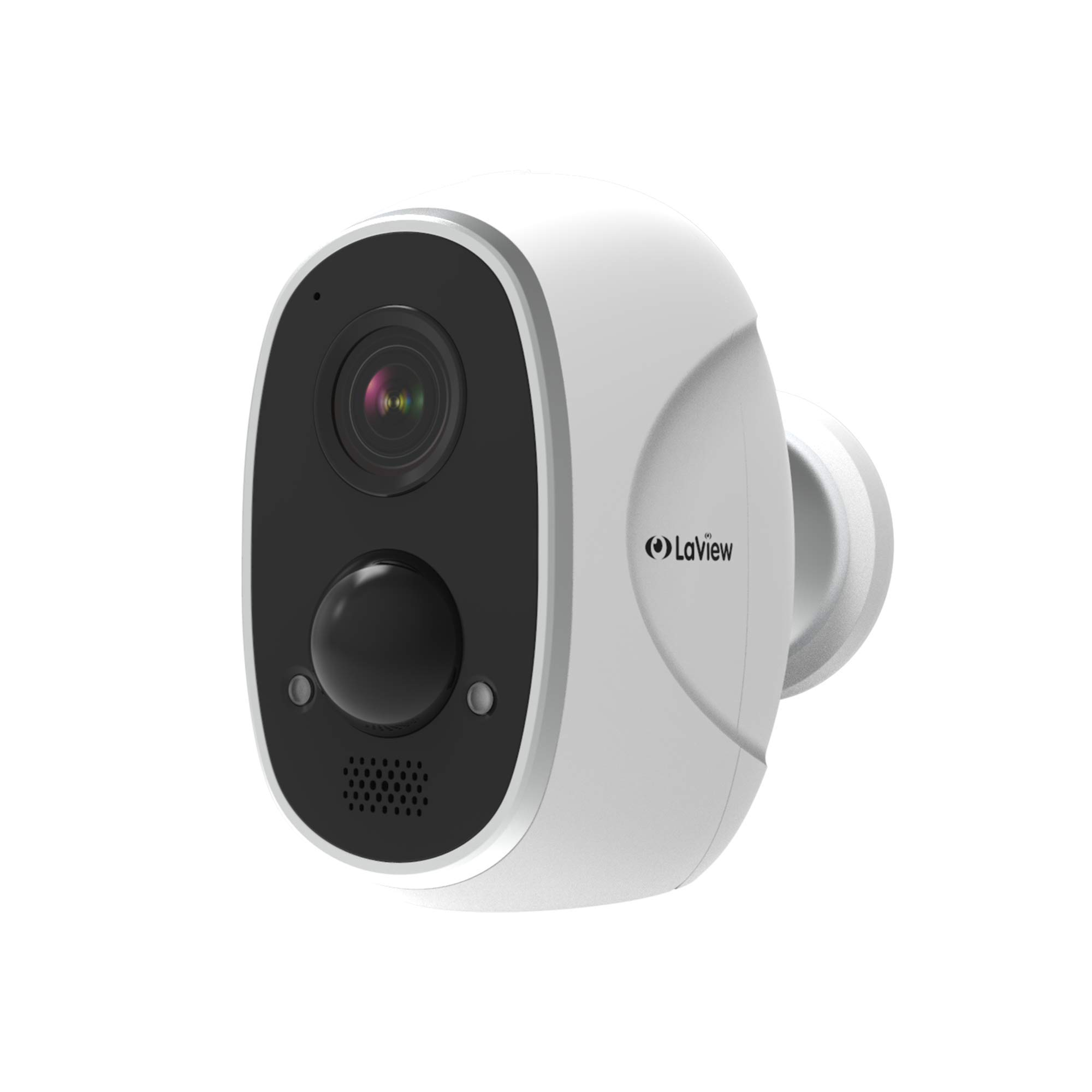 LaView ONE Link 1080P Wireless Security Camera, Battery Powered Outdoor Security Cameras Two Way Audio, PIR Thermal Detection, Compatible with Alexa, Weatherproof Wireless Home Security Cameras
